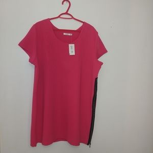 Hot Pink Rickis Tunic - New